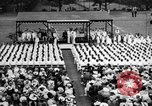 Image of Midshipmen's graduation ceremony Annapolis Maryland USA, 1939, second 4 stock footage video 65675043532