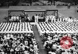 Image of Midshipmen's graduation ceremony Annapolis Maryland USA, 1939, second 5 stock footage video 65675043532
