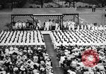 Image of Midshipmen's graduation ceremony Annapolis Maryland USA, 1939, second 6 stock footage video 65675043532