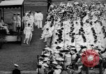 Image of Midshipmen's graduation ceremony Annapolis Maryland USA, 1939, second 7 stock footage video 65675043532