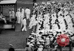 Image of Midshipmen's graduation ceremony Annapolis Maryland USA, 1939, second 8 stock footage video 65675043532