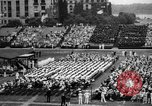Image of Midshipmen's graduation ceremony Annapolis Maryland USA, 1939, second 9 stock footage video 65675043532