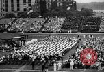 Image of Midshipmen's graduation ceremony Annapolis Maryland USA, 1939, second 10 stock footage video 65675043532