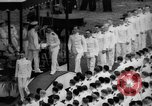 Image of Midshipmen's graduation ceremony Annapolis Maryland USA, 1939, second 11 stock footage video 65675043532