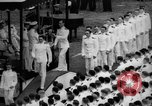 Image of Midshipmen's graduation ceremony Annapolis Maryland USA, 1939, second 12 stock footage video 65675043532