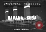 Image of Jewish refugees Havana Cuba, 1939, second 1 stock footage video 65675043533