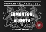 Image of King George and Queen Elizabeth Edmonton Alberta Canada, 1939, second 1 stock footage video 65675043535
