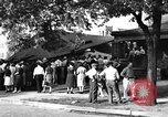 Image of gas explosion near school Barberton Ohio USA, 1939, second 4 stock footage video 65675043538