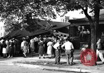 Image of gas explosion near school Barberton Ohio USA, 1939, second 5 stock footage video 65675043538