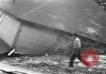 Image of gas explosion near school Barberton Ohio USA, 1939, second 7 stock footage video 65675043538