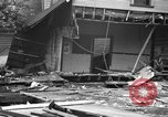 Image of gas explosion near school Barberton Ohio USA, 1939, second 9 stock footage video 65675043538