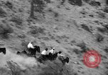 Image of Indian horsemen Keller Washington USA, 1939, second 10 stock footage video 65675043541
