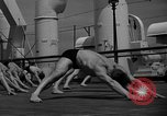 Image of Niels Bukh School of Gymnastics New York United States USA, 1939, second 7 stock footage video 65675043542