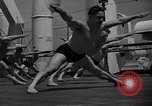 Image of Niels Bukh School of Gymnastics New York United States USA, 1939, second 9 stock footage video 65675043542