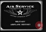Image of History of Airplanes United States USA, 1920, second 6 stock footage video 65675043551