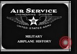 Image of History of Airplanes United States USA, 1920, second 8 stock footage video 65675043551