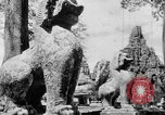 Image of Temples Cambodia, 1945, second 4 stock footage video 65675043572