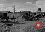 Image of Bullock cart dwellers Phnom Penh Cambodia, 1957, second 10 stock footage video 65675043579