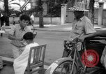 Image of Street scene Phnom Penh Cambodia, 1957, second 7 stock footage video 65675043582