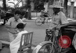 Image of Street scene Phnom Penh Cambodia, 1957, second 8 stock footage video 65675043582