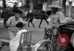 Image of Street scene Phnom Penh Cambodia, 1957, second 9 stock footage video 65675043582