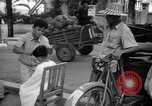 Image of Street scene Phnom Penh Cambodia, 1957, second 10 stock footage video 65675043582