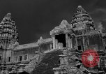 Image of Temple Angkor-Vat Cambodia, 1957, second 9 stock footage video 65675043589