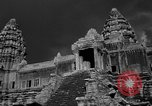 Image of Temple Angkor-Vat Cambodia, 1957, second 10 stock footage video 65675043589