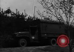 Image of United States soldiers in maneuvers United States USA, 1953, second 1 stock footage video 65675043638