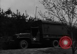 Image of United States soldiers in maneuvers United States USA, 1953, second 4 stock footage video 65675043638