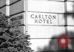 Image of Carlton Hotel Washington DC USA, 1942, second 1 stock footage video 65675043698