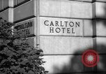 Image of Carlton Hotel Washington DC USA, 1942, second 4 stock footage video 65675043698