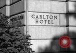 Image of Carlton Hotel Washington DC USA, 1942, second 5 stock footage video 65675043698