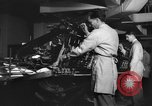 Image of Printing Department Washington DC USA, 1942, second 4 stock footage video 65675043721