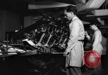 Image of Printing Department Washington DC USA, 1942, second 12 stock footage video 65675043721