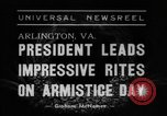 Image of President Franklin Roosevelt Arlington Virginia USA, 1938, second 1 stock footage video 65675043738