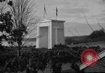 Image of Exchanging of flags Blaine Washington USA, 1938, second 5 stock footage video 65675043739