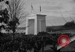 Image of Exchanging of flags Blaine Washington USA, 1938, second 6 stock footage video 65675043739