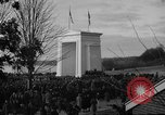 Image of Exchanging of flags Blaine Washington USA, 1938, second 7 stock footage video 65675043739