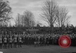 Image of Exchanging of flags Blaine Washington USA, 1938, second 11 stock footage video 65675043739