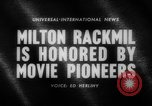 Image of Milton Rackmil United States USA, 1962, second 3 stock footage video 65675043751