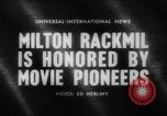 Image of Milton Rackmil United States USA, 1962, second 4 stock footage video 65675043751