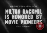 Image of Milton Rackmil United States USA, 1962, second 5 stock footage video 65675043751