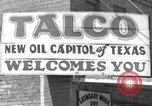 Image of Texas oil rush Talco Texas USA, 1936, second 12 stock footage video 65675043761