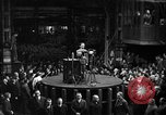Image of Adolf Hitler addresses German factory workers Berlin Germany, 1933, second 1 stock footage video 65675043771