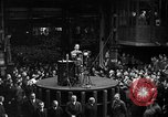 Image of Adolf Hitler addresses German factory workers Berlin Germany, 1933, second 2 stock footage video 65675043771