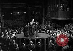 Image of Adolf Hitler addresses German factory workers Berlin Germany, 1933, second 3 stock footage video 65675043771