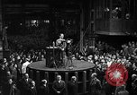 Image of Adolf Hitler addresses German factory workers Berlin Germany, 1933, second 5 stock footage video 65675043771