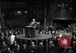 Image of Adolf Hitler addresses German factory workers Berlin Germany, 1933, second 6 stock footage video 65675043771