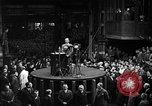 Image of Adolf Hitler addresses German factory workers Berlin Germany, 1933, second 7 stock footage video 65675043771
